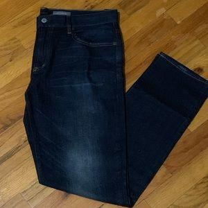Aeropostale Men's Skinny Dark Rinse Jeans 36x32